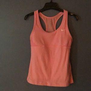 Nike Dri-Fit pink S sports bra top